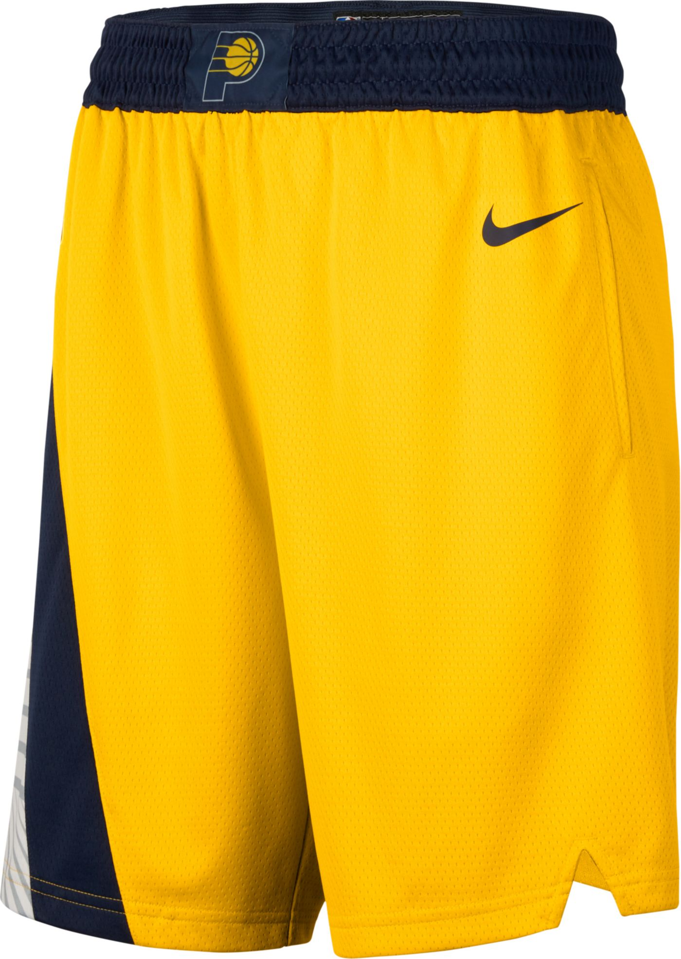 Nike Men's Indiana Pacers Dri-FIT Statement Statement Swingman Shorts