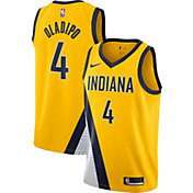 Nike Men's Indiana Pacers Victor Oladipo #5 Gold Dri-FIT Statement Swingman Jersey