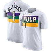 Nike Men's New Orleans Pelicans Zion Williamson #1 City Edition Dri-FIT White T-Shirt