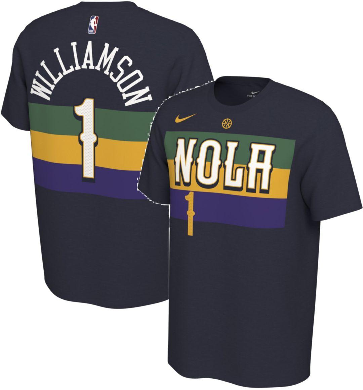 wide range buy online sneakers Nike Men's New Orleans Pelicans Zion Williamson Dri-FIT City Edition T-Shirt