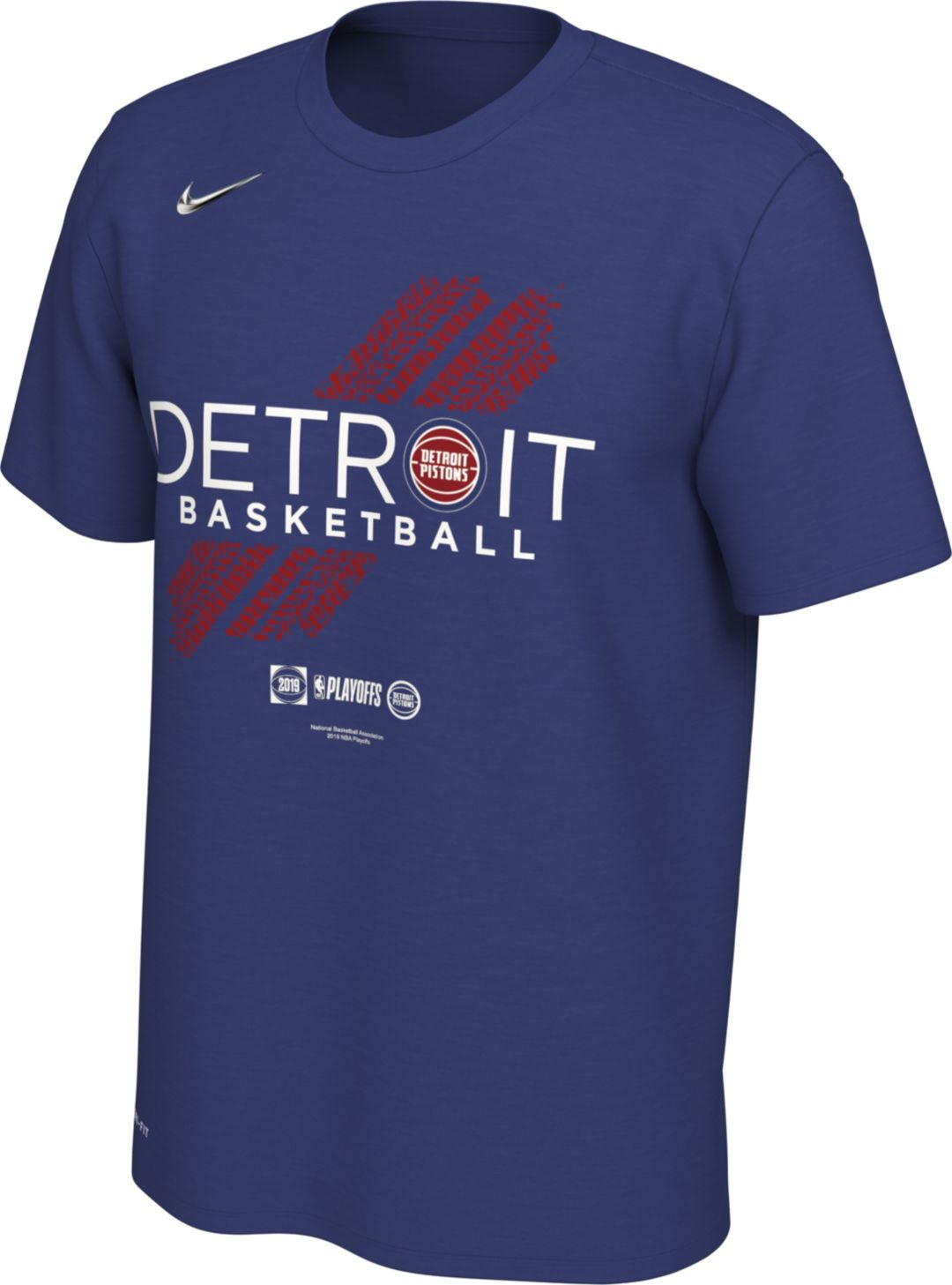 new cheap best loved new product Nike Men's Detroit Pistons 2019 Playoffs