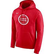 Nike Men's Detroit Pistons Dri-FIT City Edition Pullover Hoodie