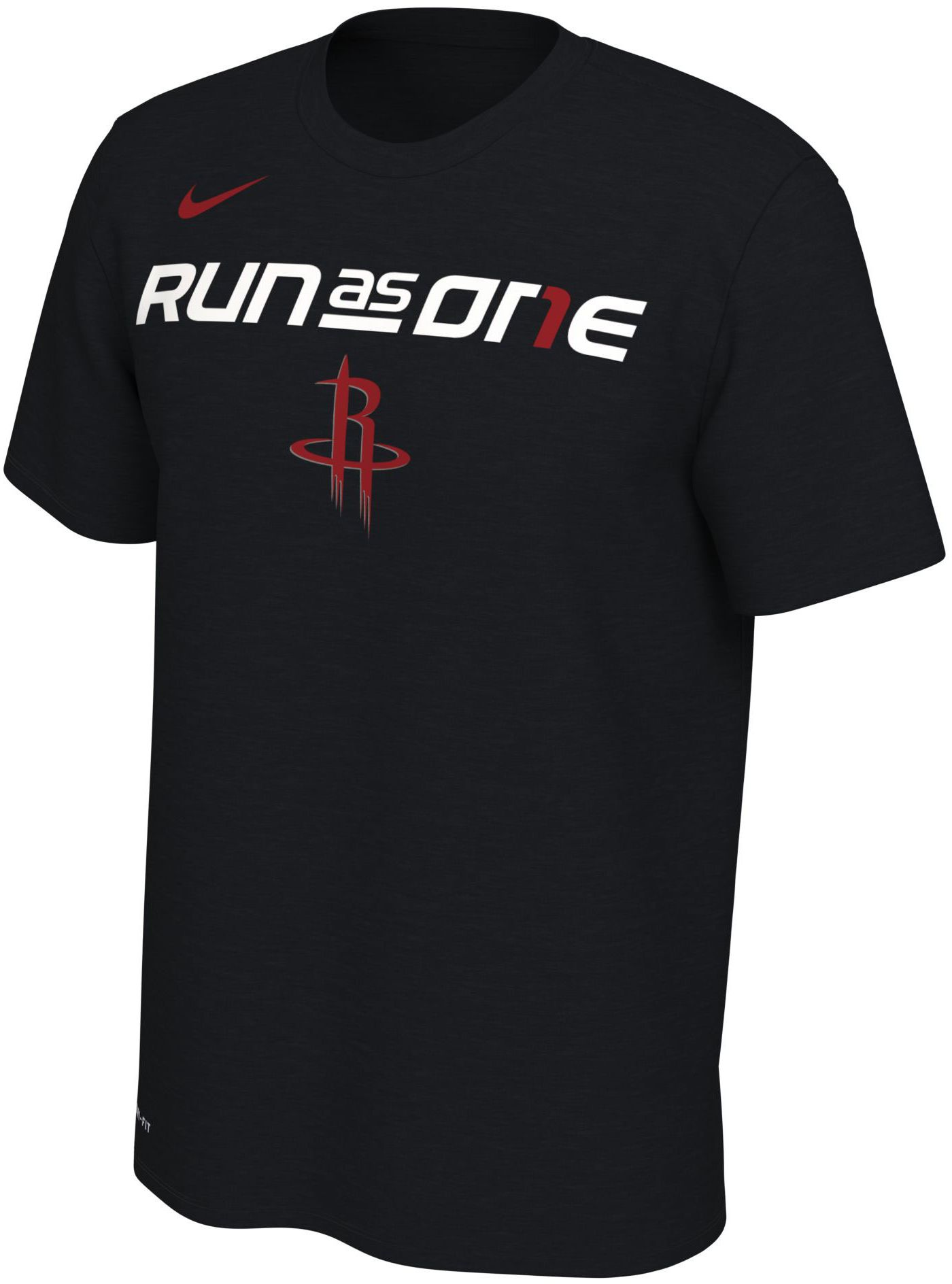 "Nike Men's Houston Rockets 2019 Playoffs ""Run As One"" Dri-FIT T-Shirt"