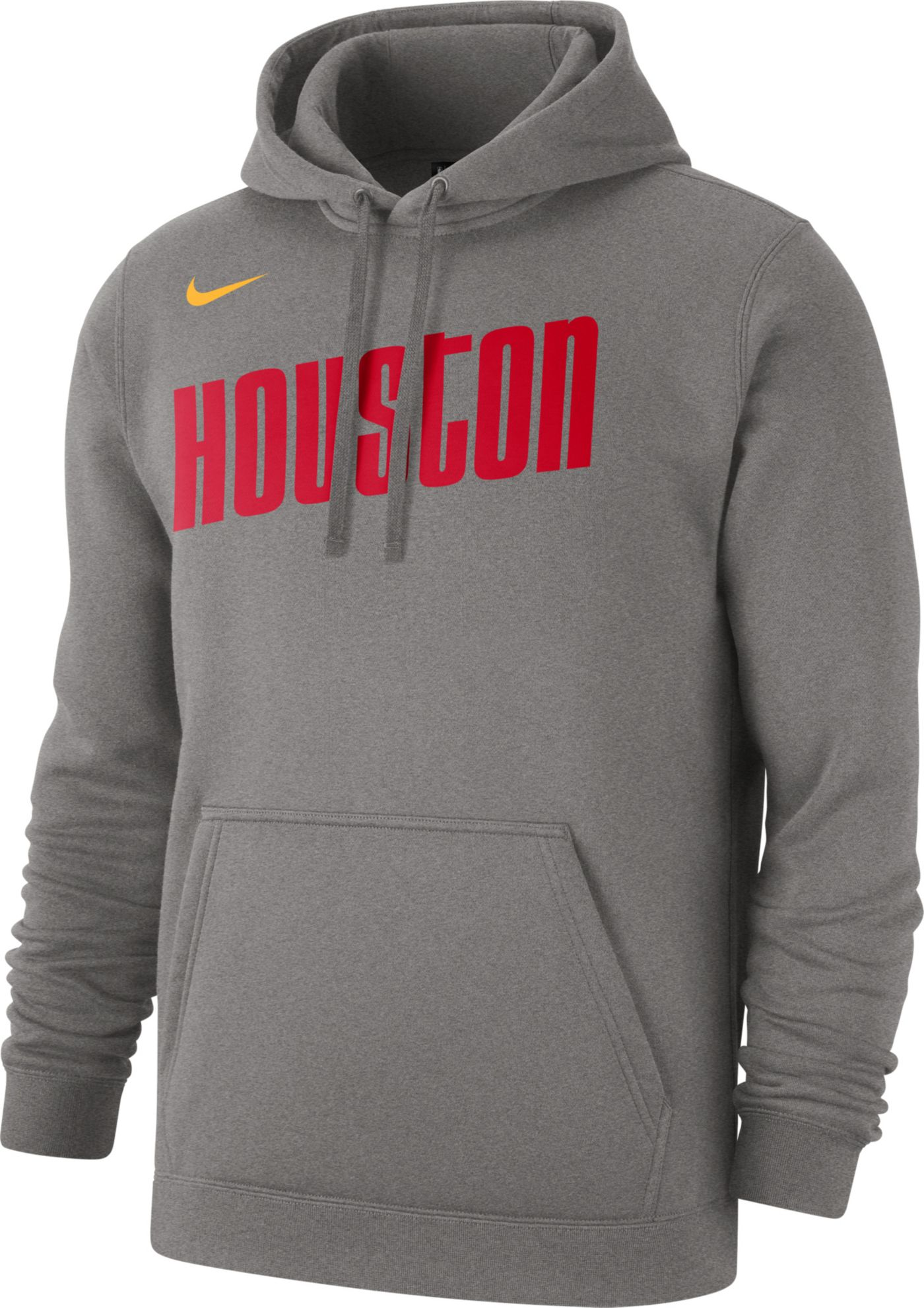 Nike Men's Houston Rockets Hardwood Classic Pullover Hoodie