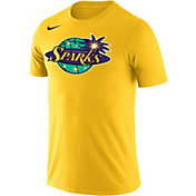 Nike Men's Los Angeles Sparks Dri-FIT Yellow T-Shirt