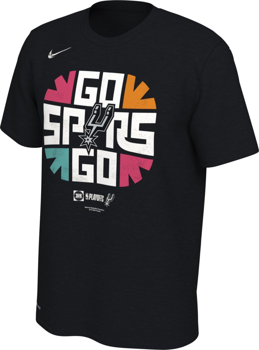 timeless design 53fa1 cb671 Nike Men's San Antonio Spurs 2019 Playoffs