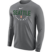 Nike Adult Seattle Storm Dri-FIT Grey Long Sleeve Shirt