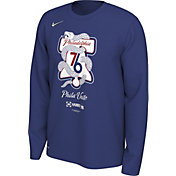 "Nike Men's Philadelphia 76ers 2019 Playoffs ""Phila Unite"" Dri-FIT Long Sleeve Shirt"
