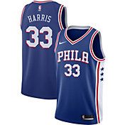 Nike Men's Philadelphia 76ers Tobias Harris #33 Royal Dri-FIT Swingman Jersey
