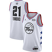 Jordan Men's 2019 NBA All-Star Game Joel Embiid White Dri-FIT Swingman Jersey