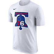 Nike Men's Philadelphia 76ers Dri-FIT Hardwood Classic T-Shirt