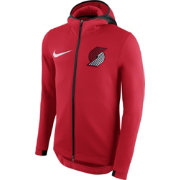 Nike Men's Portland Trail Blazers On-Court Therma Flex Showtime Full-Zip Hoodie