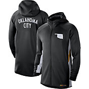 Nike Men's Oklahoma City Thunder Black Earned Edition Therma Flex Hoodie