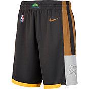 Nike Men's Oklahoma City Thunder Dri-FIT City Edition Swingman Shorts