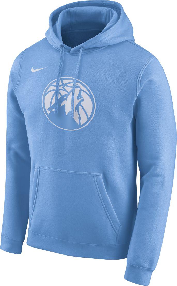 Nike Men S Minnesota Timberwolves Dri Fit City Edition Pullover