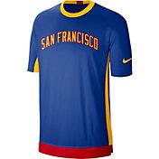 Nike Men's Golden State Warriors Dri-FIT Hardwood Classic Shooting Shirt