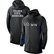 Nike Men's Golden State Warriors Black Earned Edition Therma Flex Hoodie