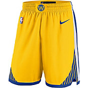 Nike Men's Golden State Warriors Dri-FIT Statement Statement Swingman Shorts