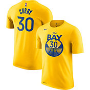 Nike Men's Golden State Warriors Stephen Curry #30 Dri-FIT Statement Gold T-Shirt