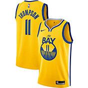 Nike Men's Golden State Warriors Klay Thompson #11 Gold Dri-FIT Statement Swingman Jersey