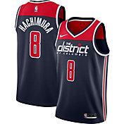 Nike Men's Washington Wizards Rui Hachimura #8 Navy Dri-FIT Swingman Jersey