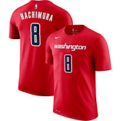 Nike Men's Washington Wizards Rui Hachimura #8 Dri-FIT Red T-Shirt