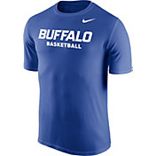 Nike Men's Buffalo Bulls Blue Dri-FIT Legend 2.0 Basketball T-Shirt