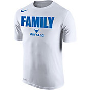 Nike Men's Buffalo Bulls 'Family' Bench White T-Shirt