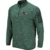 Colosseum Men's UAB Blazers Green Quarter-Zip Shirt