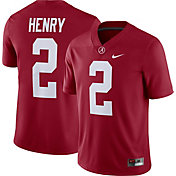 Nike Men's Derrick Henry Alabama Crimson Tide #2 Crimson Dri-FIT Game Football Jersey