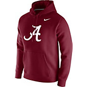 Nike Men's Alabama Crimson Tide Crimson Club Fleece Pullover Hoodie