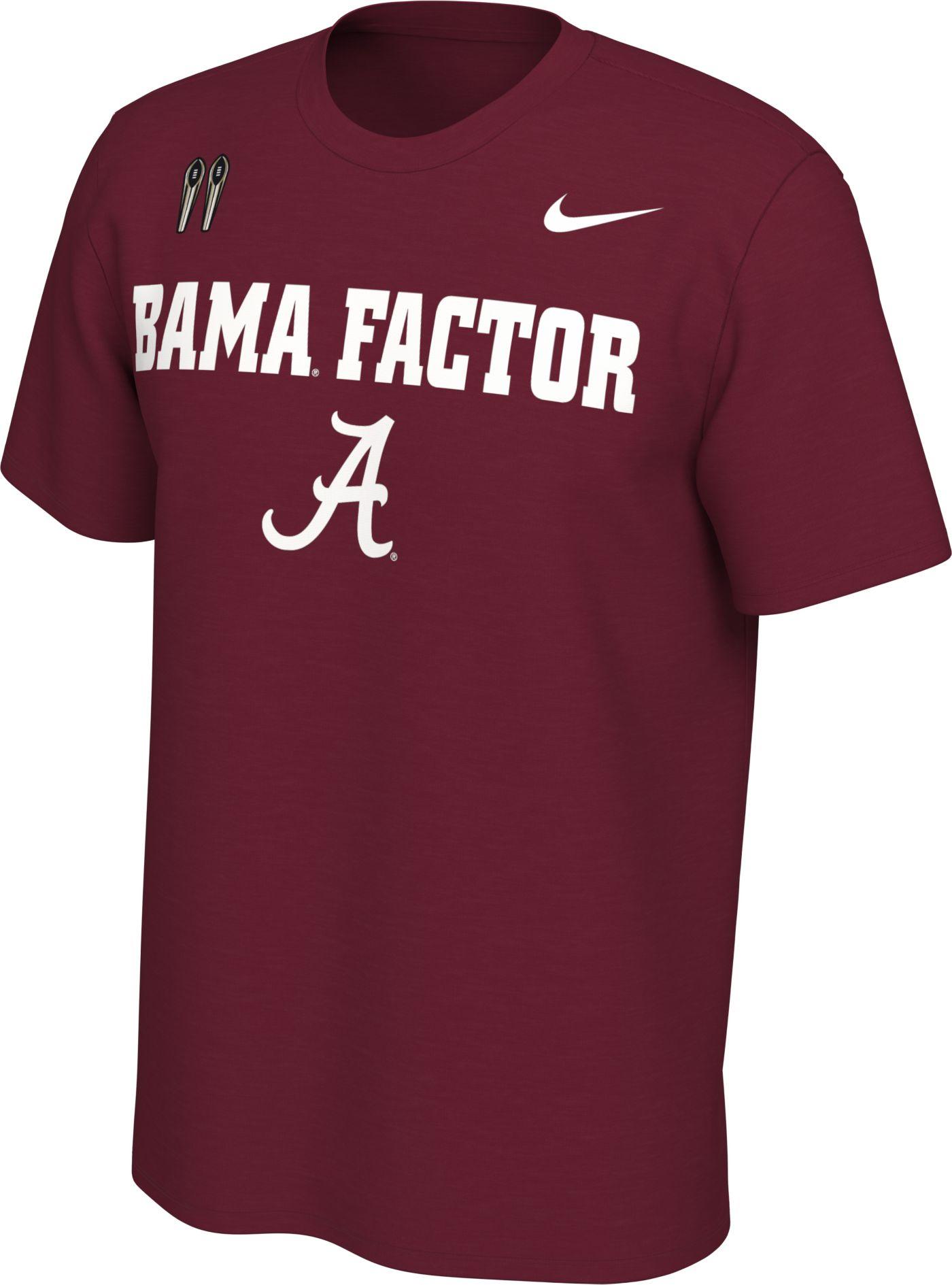 Nike Men's Alabama Crimson Tide Crimson Mantra T-Shirt