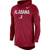 Nike Men's Alabama Crimson Tide Crimson Dri-FIT Rivalry Football Sideline Hooded T-Shirt