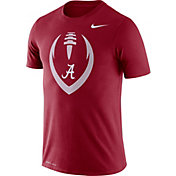 Nike Men's Alabama Crimson Tide Crimson Legend Football Icon T-Shirt