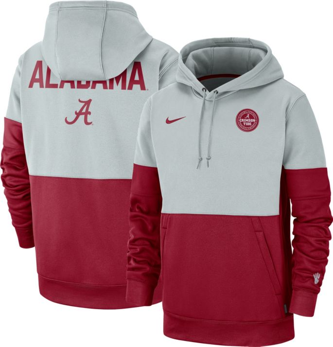 Nike Men's Alabama Crimson Tide GreyCrimson Rivalry Therma
