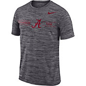 Nike Men's Alabama Crimson Tide Grey Velocity Football T-Shirt