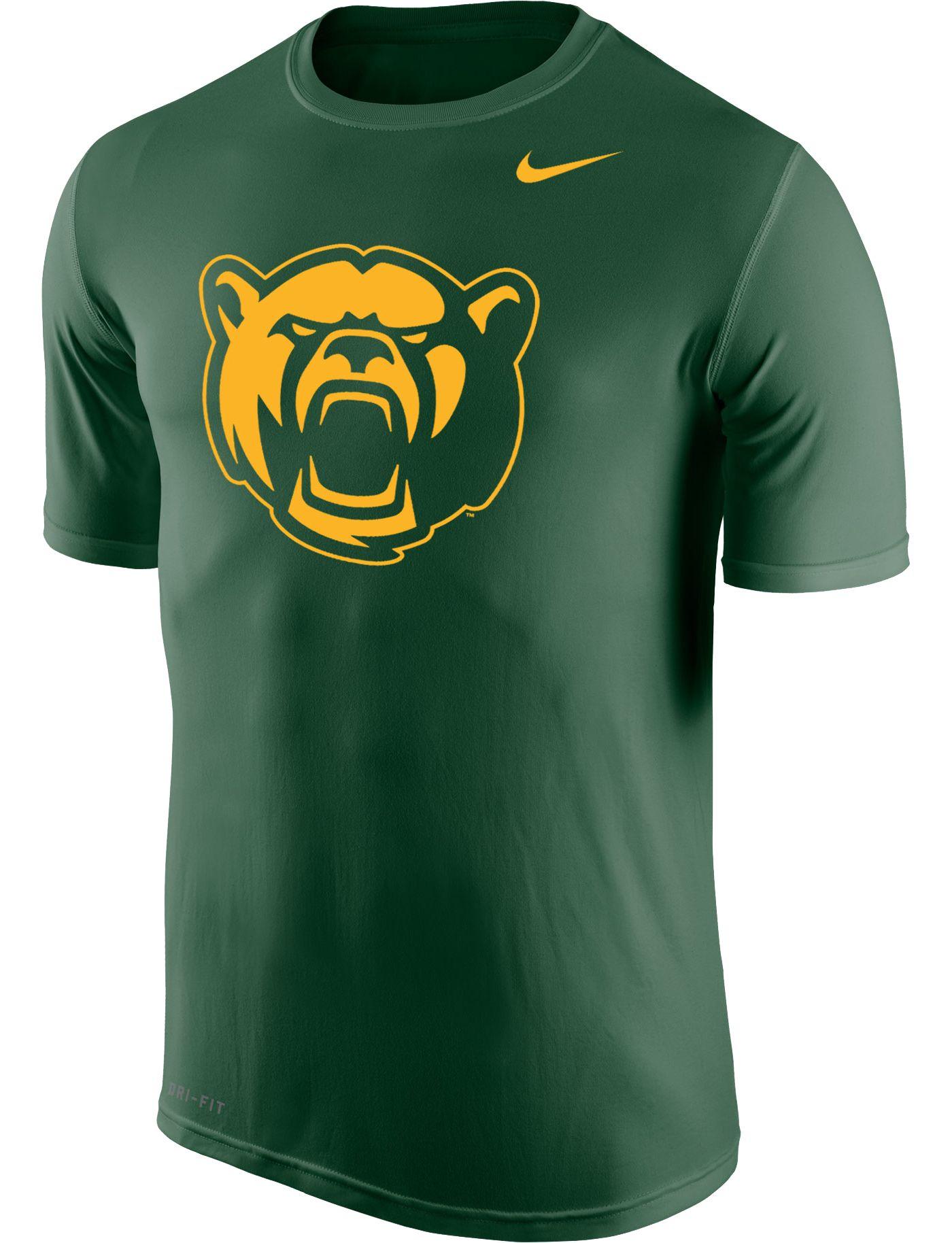 Nike Men's Baylor Bears Green Logo Dri-FIT Legend 2.0 T-Shirt