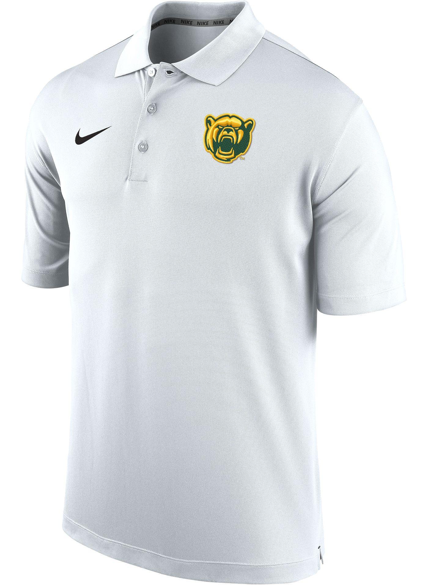 Nike Men's Baylor Bears Varsity White Polo