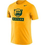 Nike Men's Baylor Bears Gold Dri-FIT Cotton T-Shirt