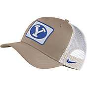 Nike Men's BYU Cougars Tan Classic99 Trucker Hat