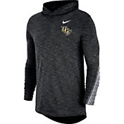 Nike Men's UCF Knights Cotton Long Sleeve Hoodie Black T-Shirt