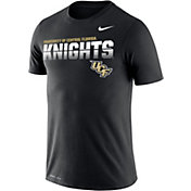 Nike Men's UCF Knights Legend Football Sideline Black T-Shirt