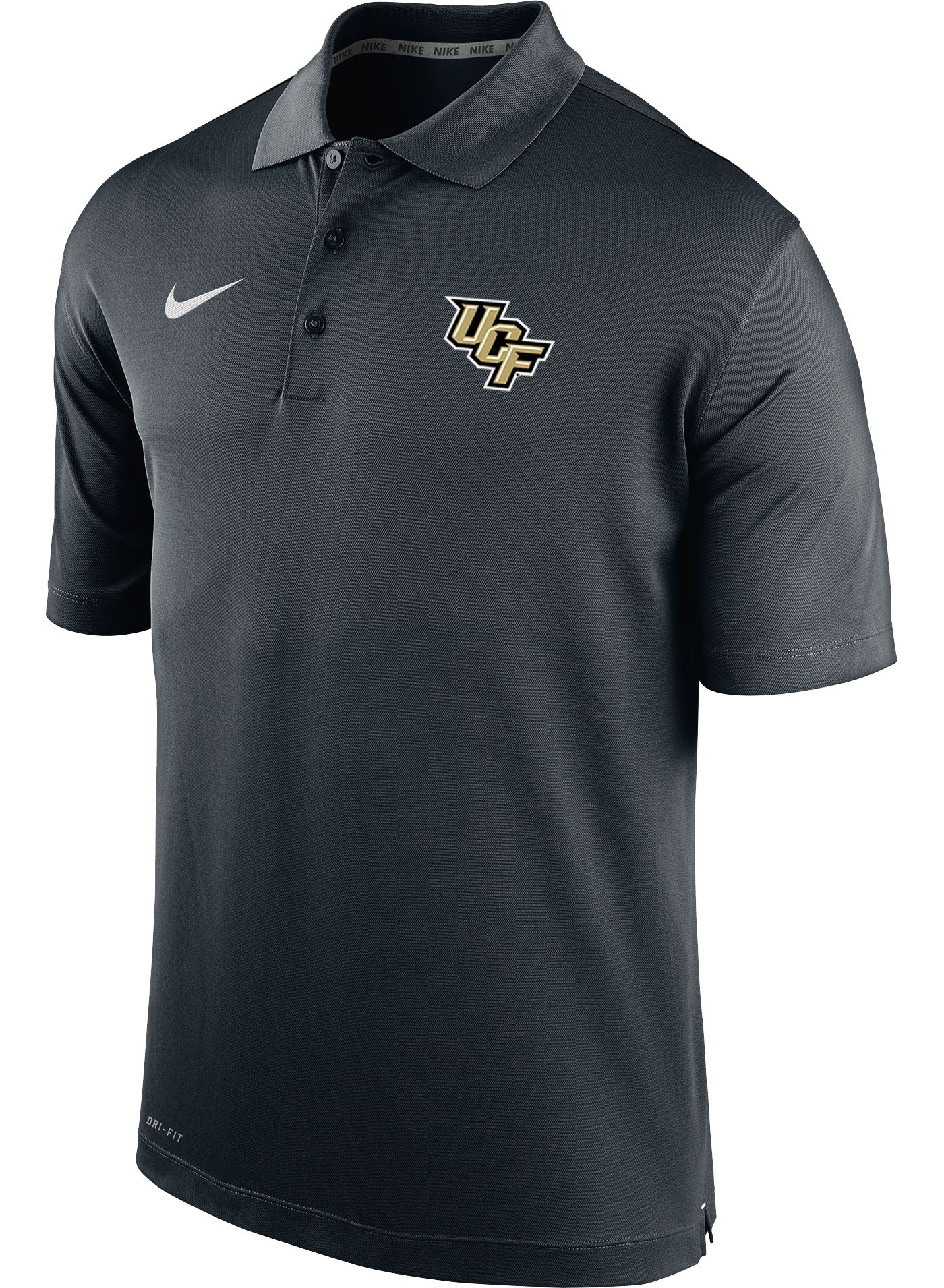 Nike Men's UCF Knights Varsity Black Polo