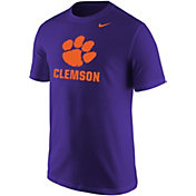 Nike Men's Clemson Tigers Regalia Paw Wordmark T-Shirt