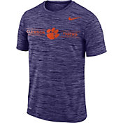Nike Men's Clemson Tigers Regalia Velocity Football T-Shirt
