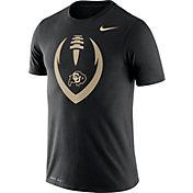 Nike Men's Colorado Buffaloes Legend Football Icon Black T-Shirt