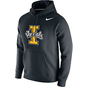 Nike Men's Idaho Vandals Club Fleece Pullover Black Hoodie