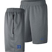 Nike Men's Duke Blue Devils Grey Dri-FIT Spotlight Basketball Shorts