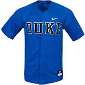 Nike Men's Duke Blue Devils Duke Blue Full Button Replica Baseball Jersey