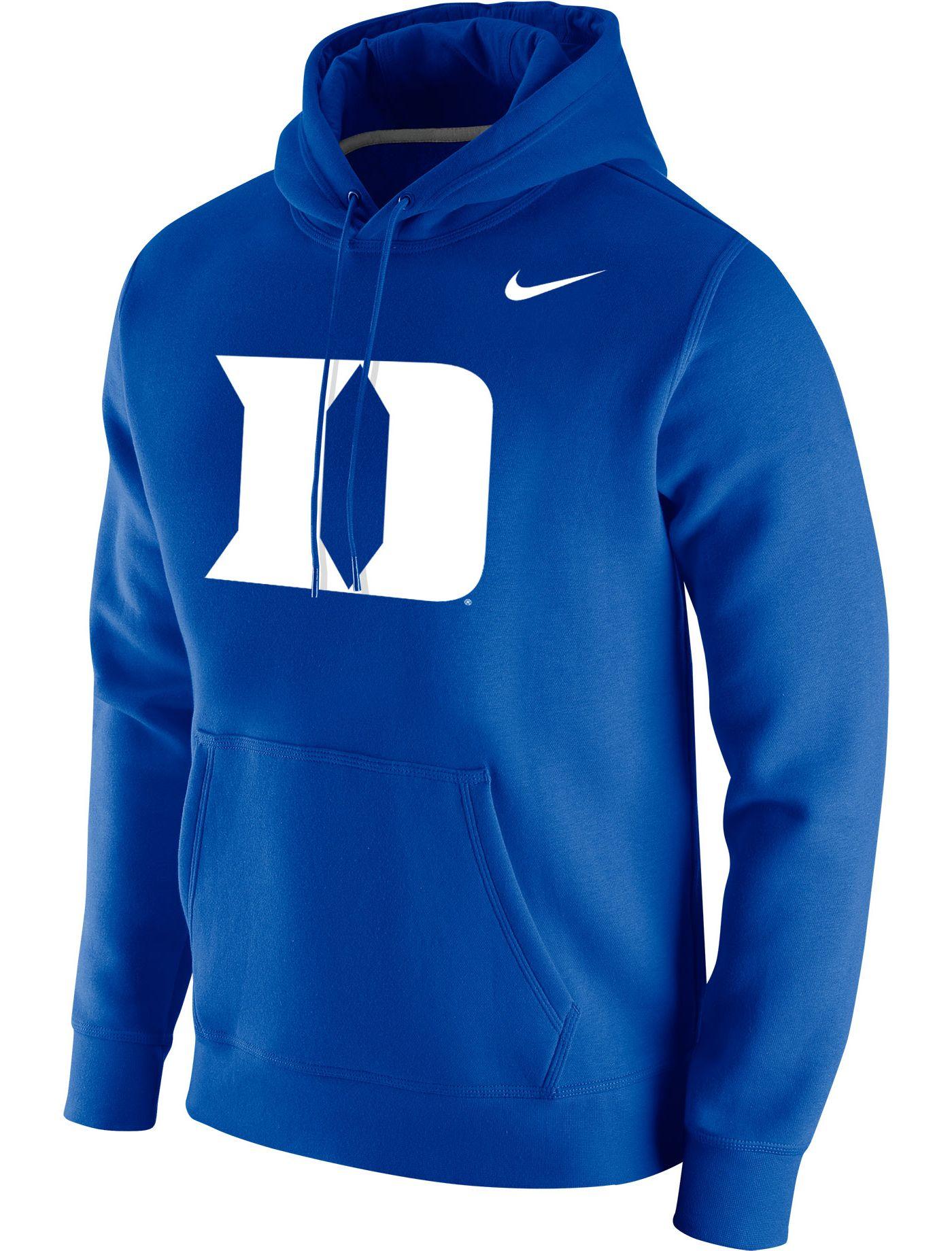 Nike Men's Duke Blue Devils Duke Blue Club Fleece Pullover Hoodie